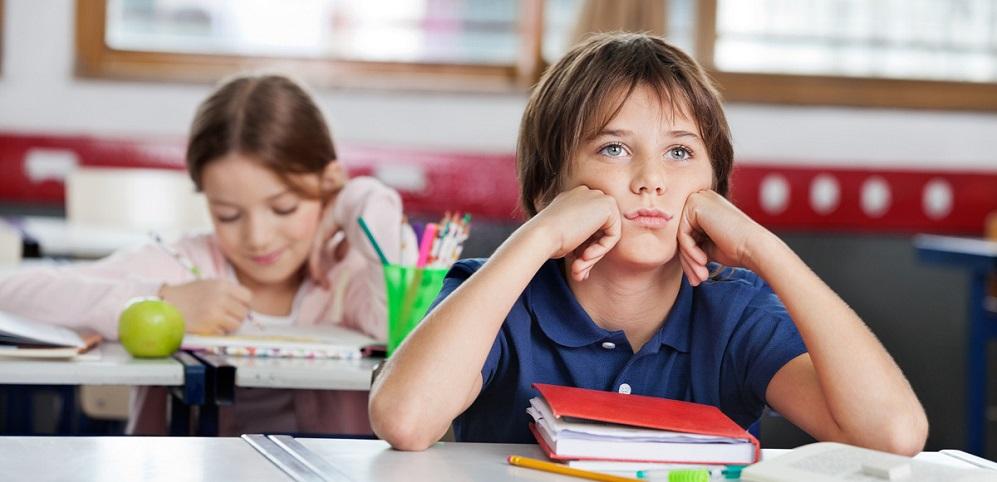 Dete na skolo