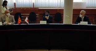 Japosnkiot ambasador vo Veles donirase aparat