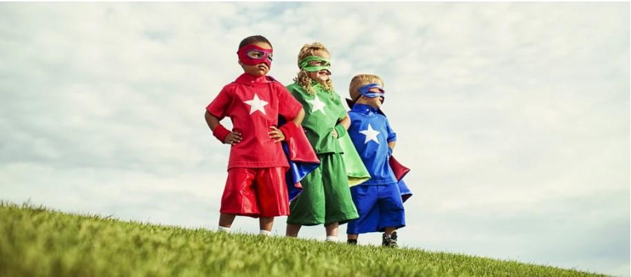 kids heroes