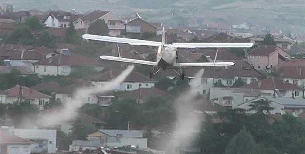 Avionsko prskanje protiv komarci
