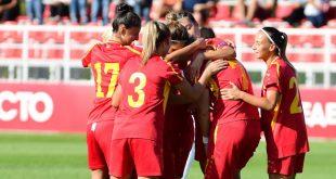 Makedonija fudbalerki reprezentacija
