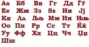 Makedonska azbuka